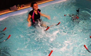 aquabiking trainer l'Atelier Aquabiking